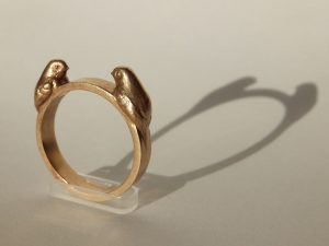 3d printed bronze jewelry