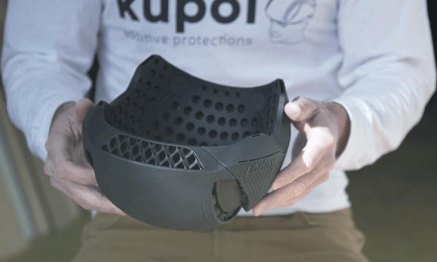 3d printing helmet
