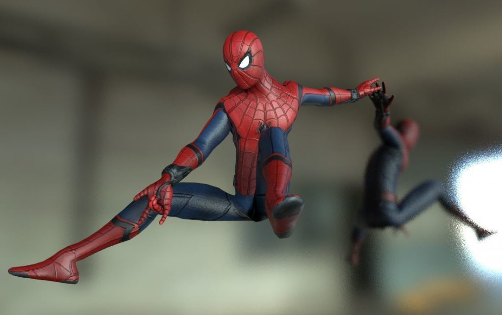3d printing spiderman character
