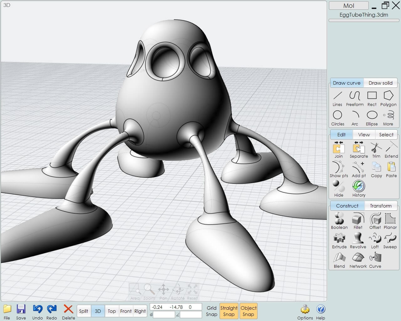 MoI (Moment of Inspiration) for 3d printing