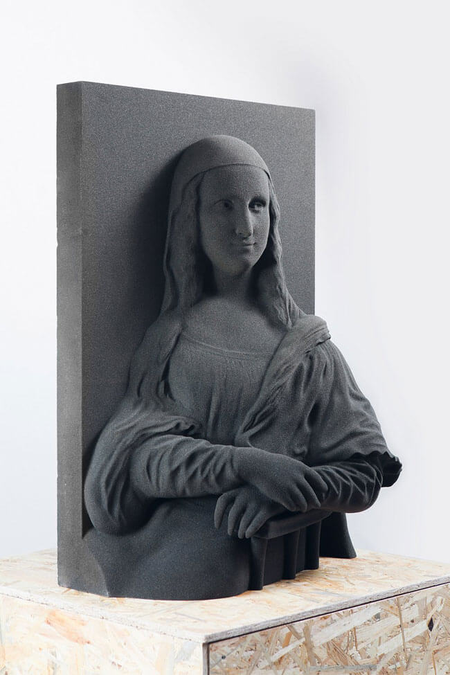 3D Printed Work of Classical Art for Blinds