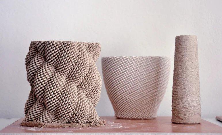 Ceramics 3d printing material