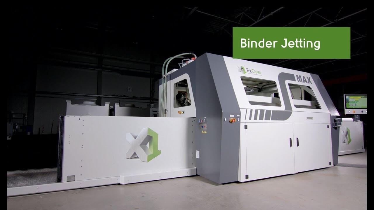 ExOne 3d printer