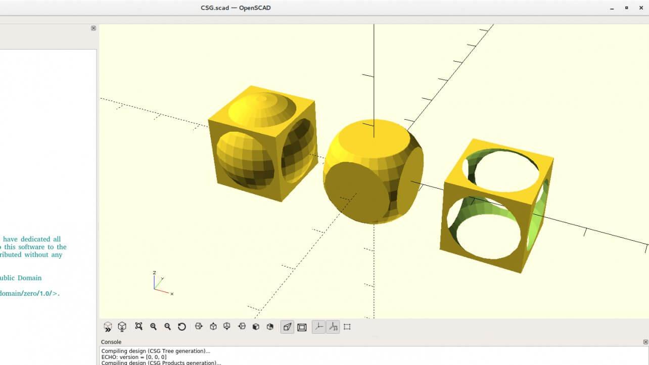 OpenSCAD software