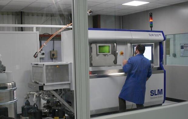 SLM Solutions SLM 500 HL industrial use