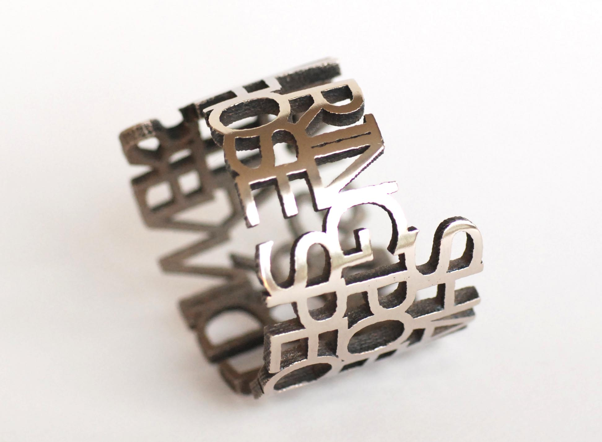 Stainless Steel 3d printed material