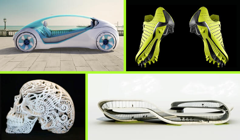 creative 3d printed objects