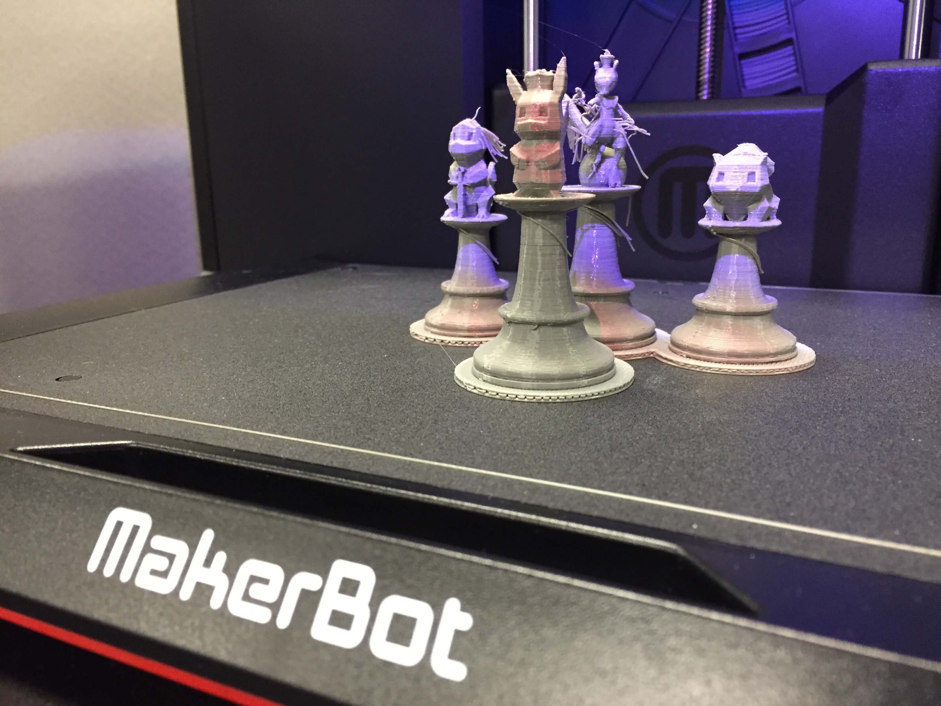 replicator + printed objects