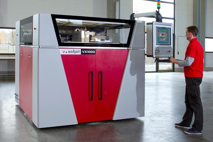 voxljet 3d printer