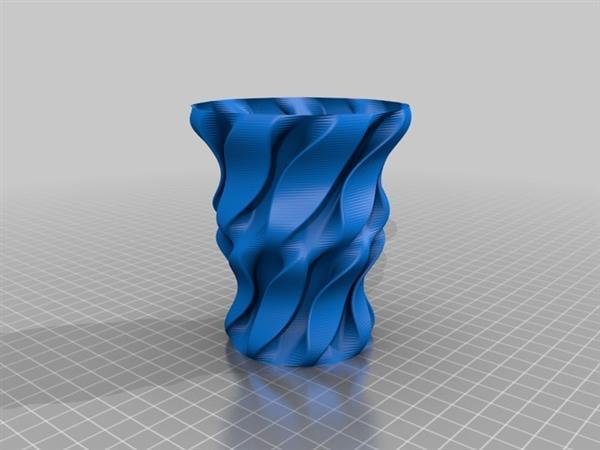 3D Model in STL File