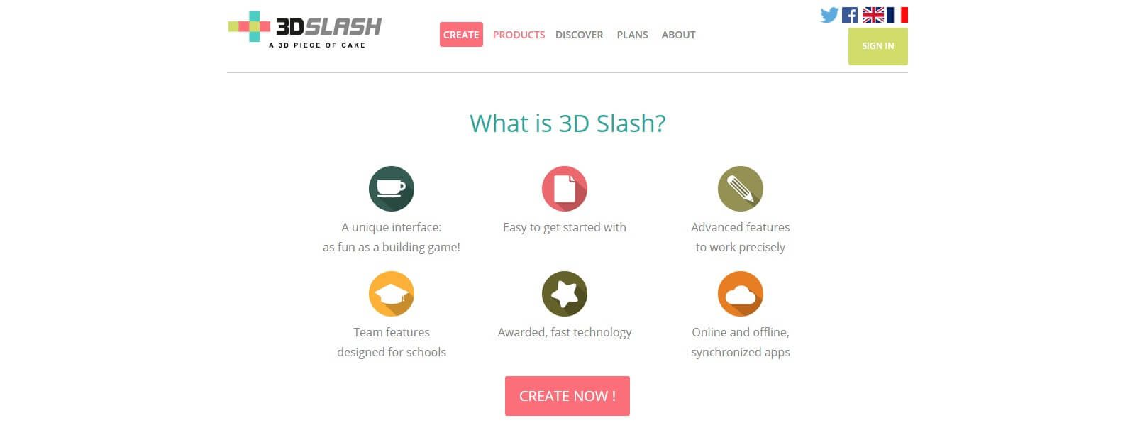 3D Slash - a 3D piece of cake - www.3dslash.net