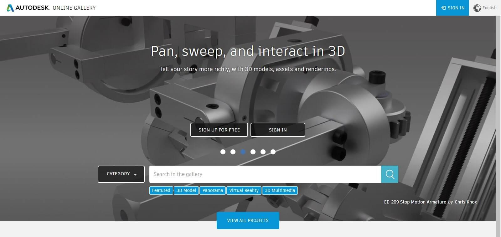Autodesk Online Gallery