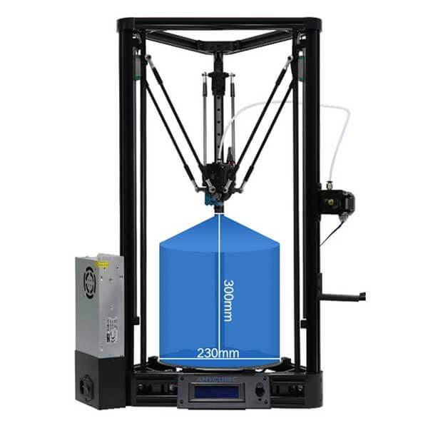 3D-printer-Kossel-linear-plus-cheap-3d-printer-kit-front