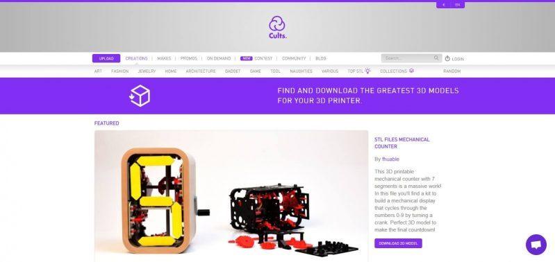 Cults ・ Download for free 3D models for 3D printers - cults3d.com