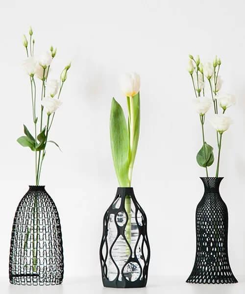 3D Printed Designer Flower Vases