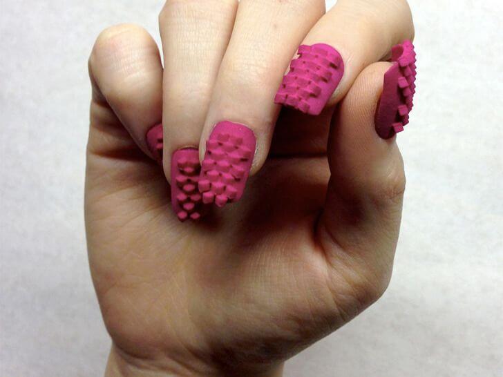 3D Printed Fake Nails