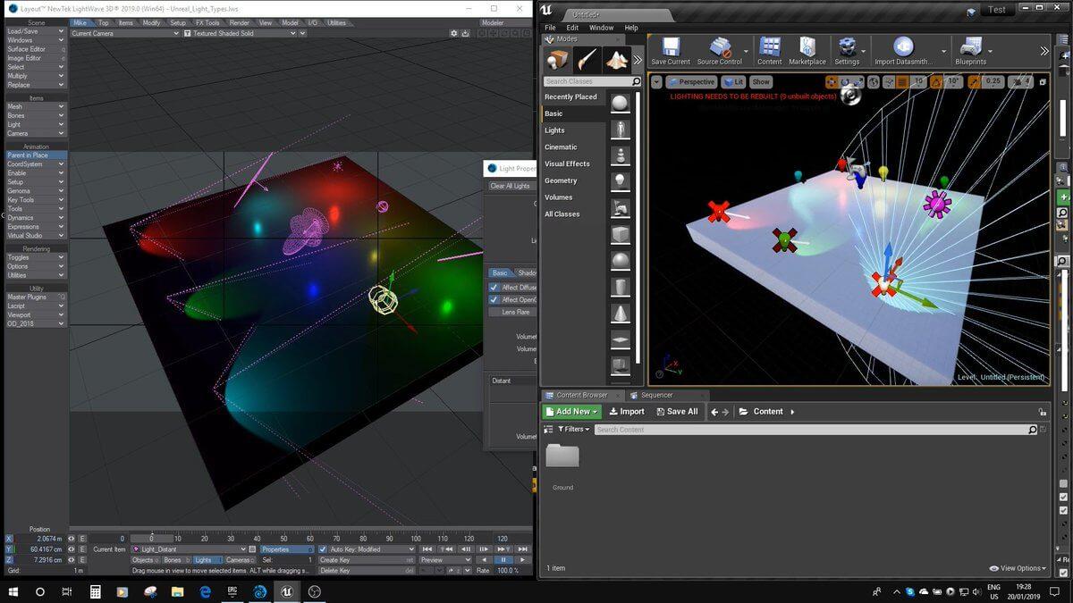 Lightwave 3D 3d modeling software