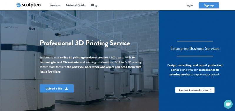 Sculpteo - Online 3D Printing Service for your 3D designs - www.sculpteo.com