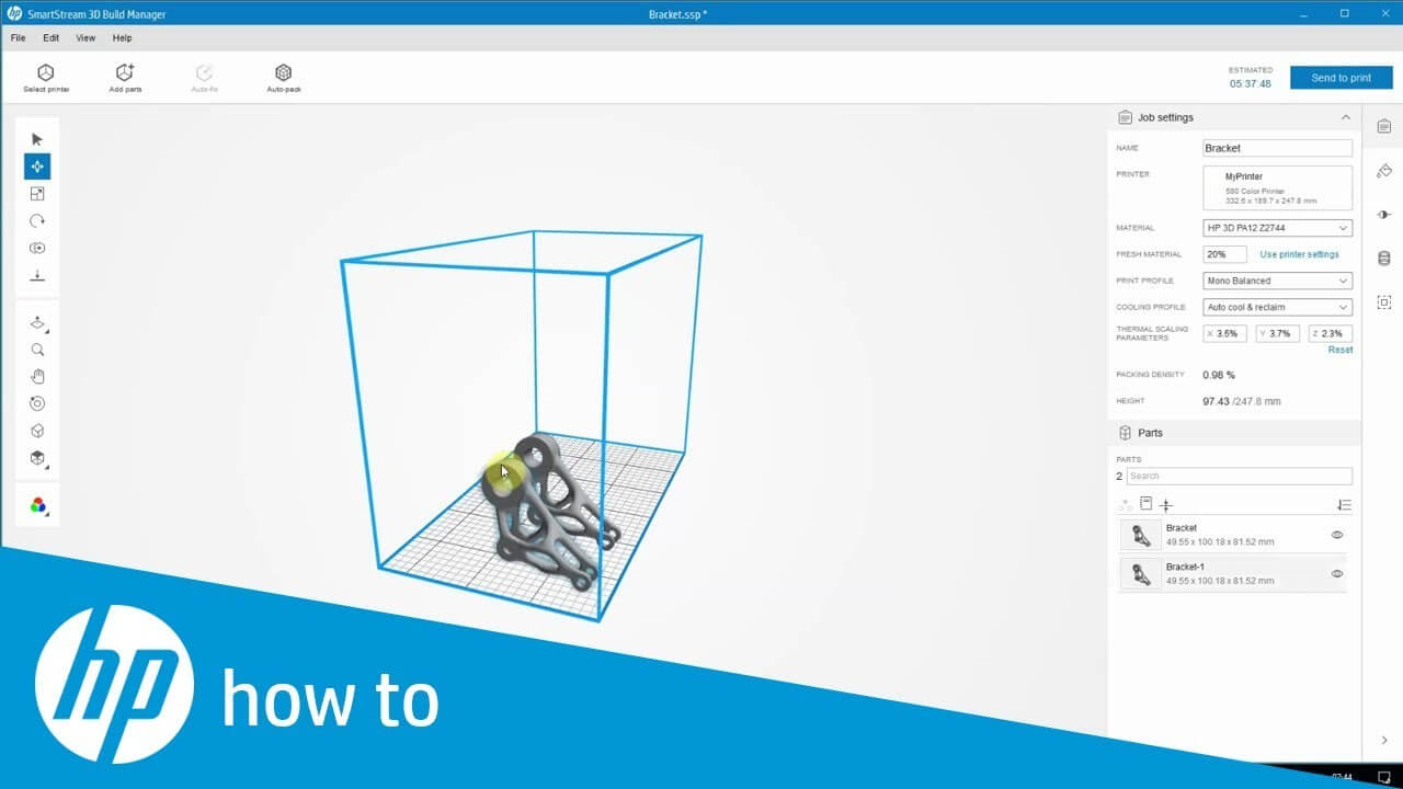 SmartStream 3D Build Manager by HP