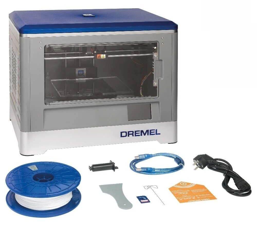 Dremel Digilab 3D20 3d printer setup (1)