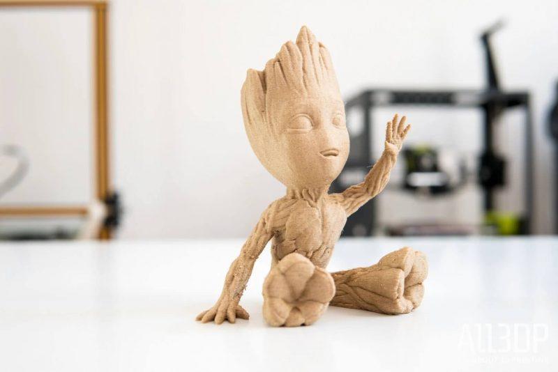 LulzBot Mini 2 3d printed Groot