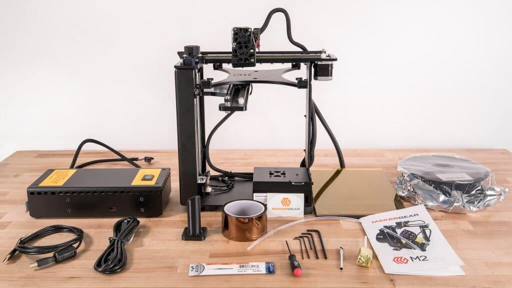 MakerGear M2 3d printer unboxing