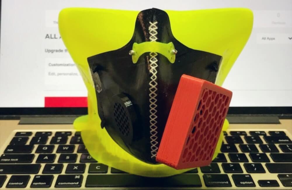3d printed hepa mask