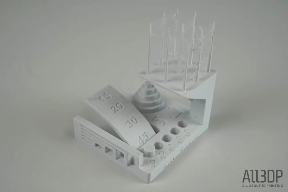 LulzBot TAZ Workhorse printed item