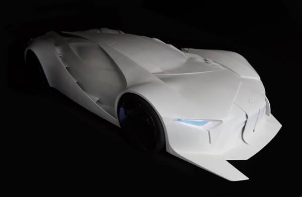 3d printed automobile prototype