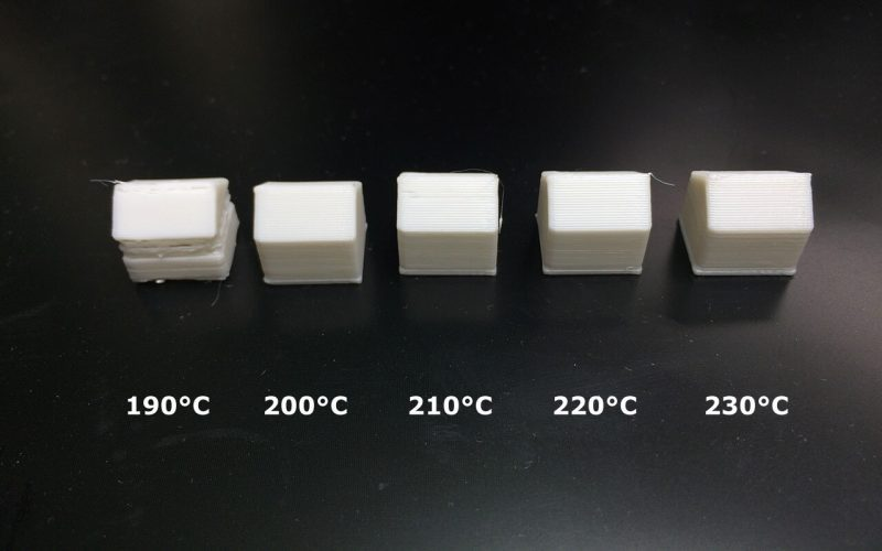 3d printer extruder temperature check