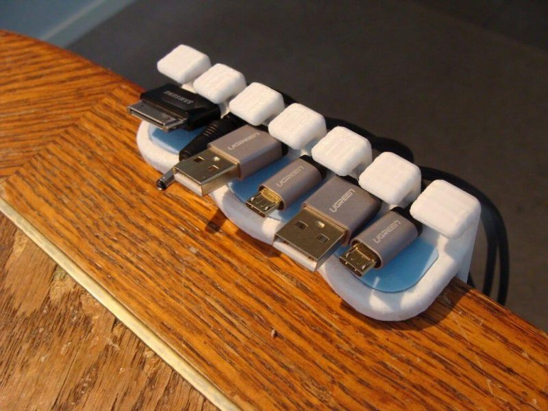 cable organizer 3d printed