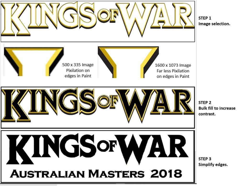 3d printing logo - star wars