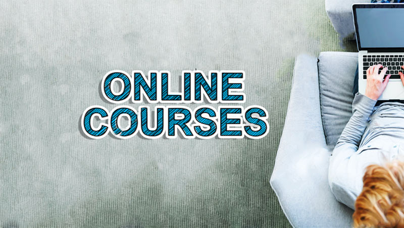 Start with Learning Through Online Courses