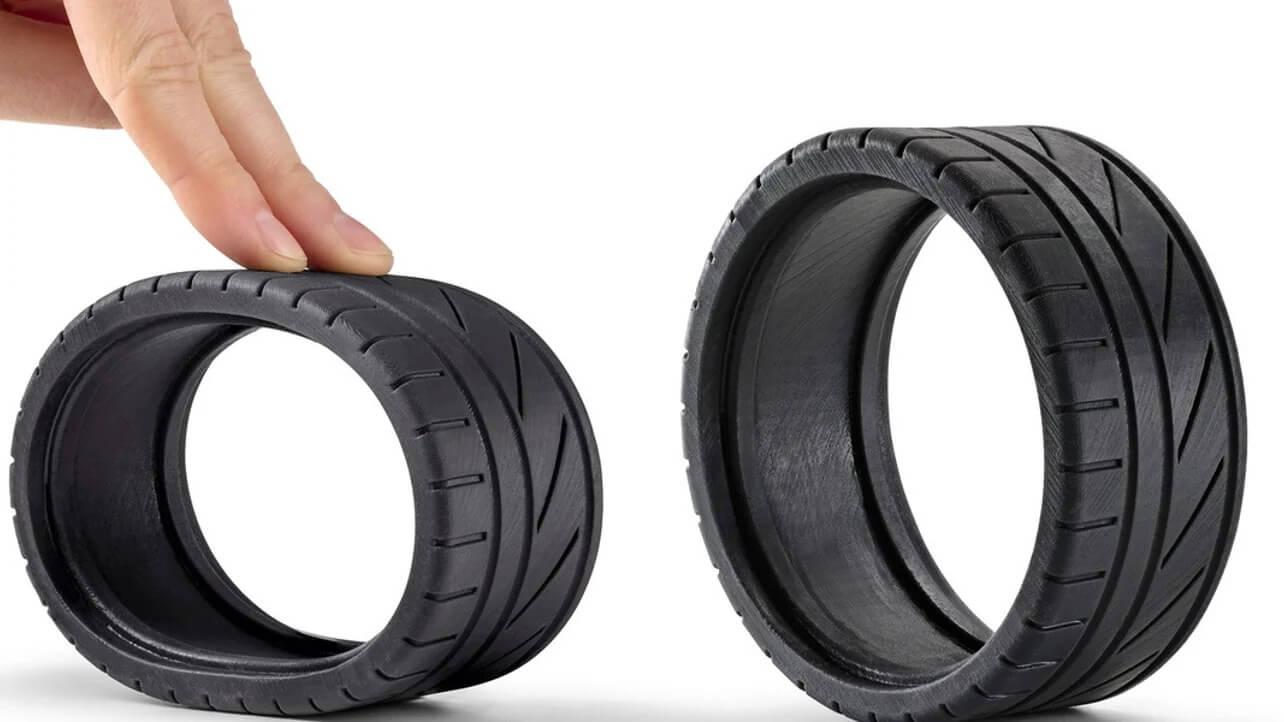 rubber like resin 3d printing