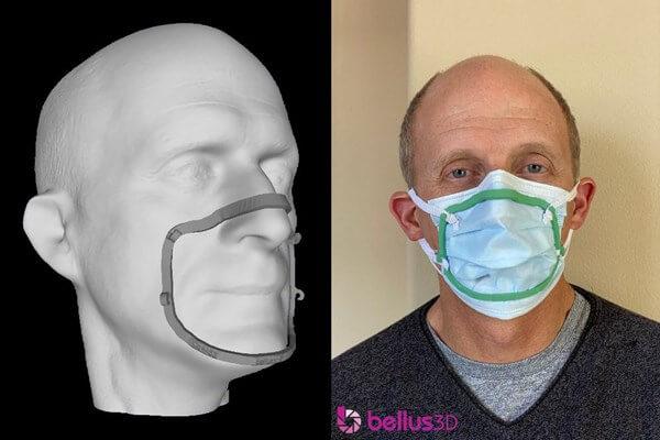 Bellus3D face mask