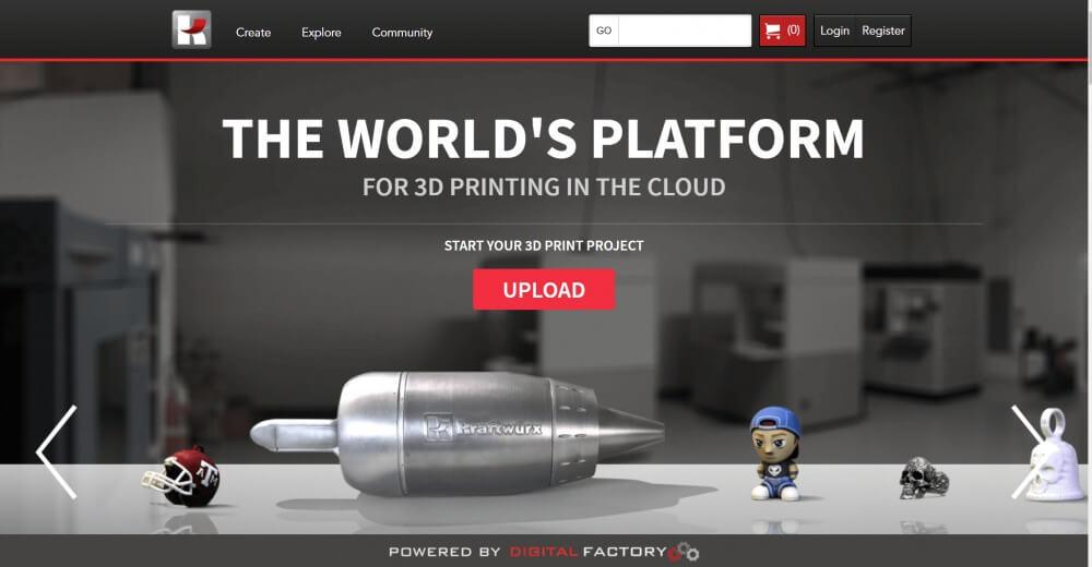Kraftwurx 3d printing service