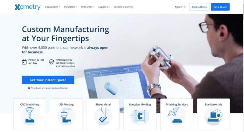 xometry 3d printing service