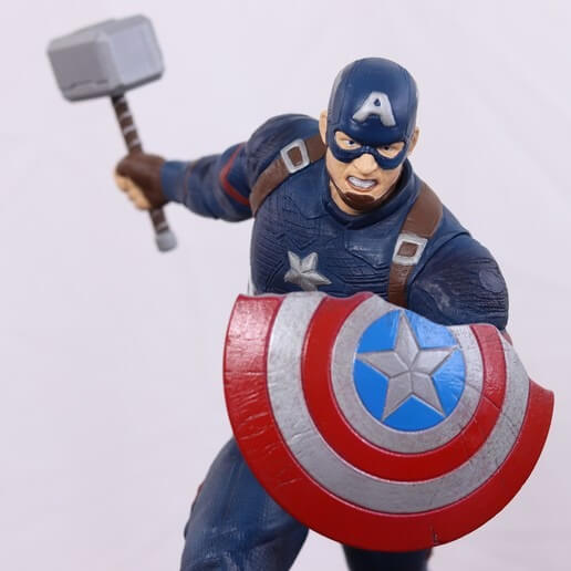 3d printed captain america