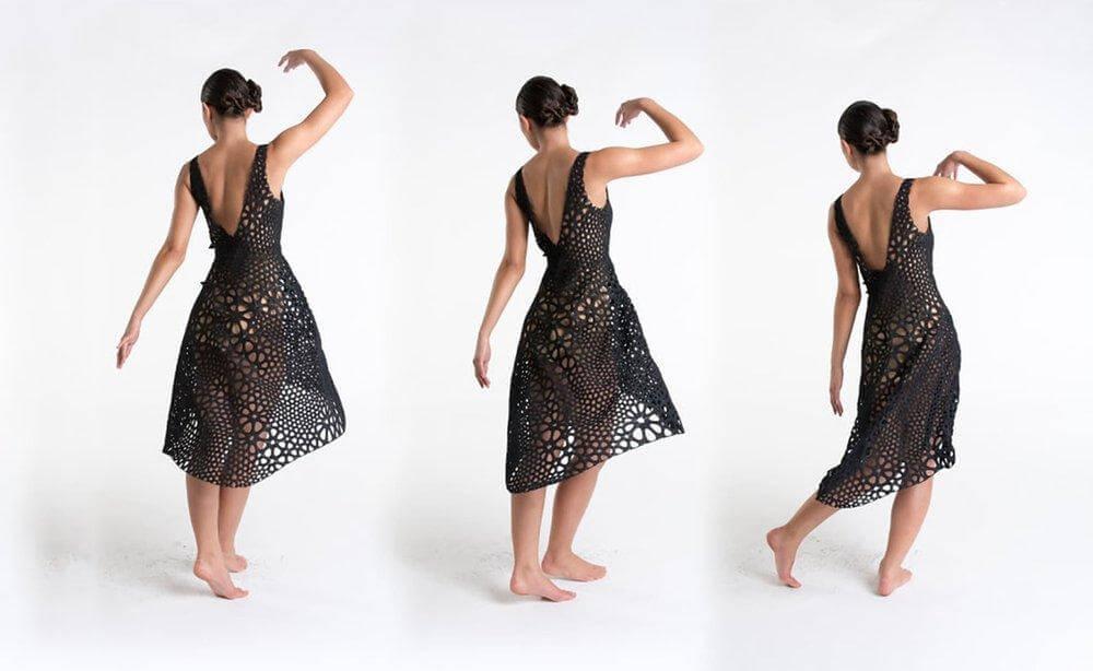 3d printed digital dress