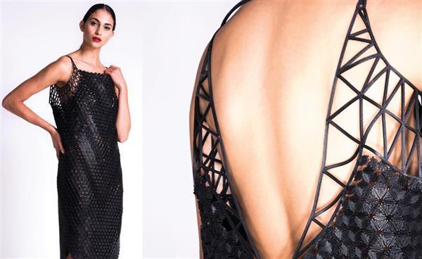 3d printed one piece dress