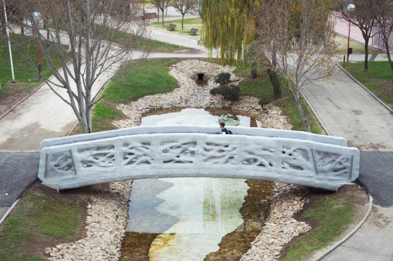 Acciona 3d printed spain bridge