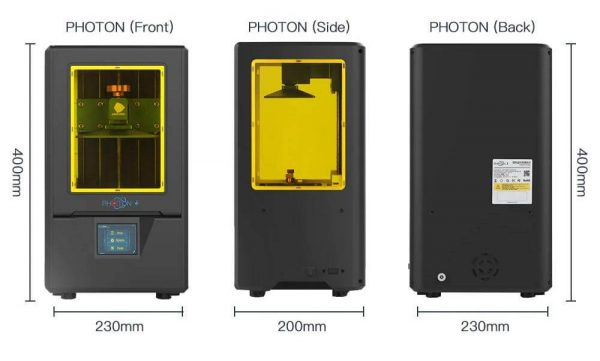 Anycubic Photon S specifications