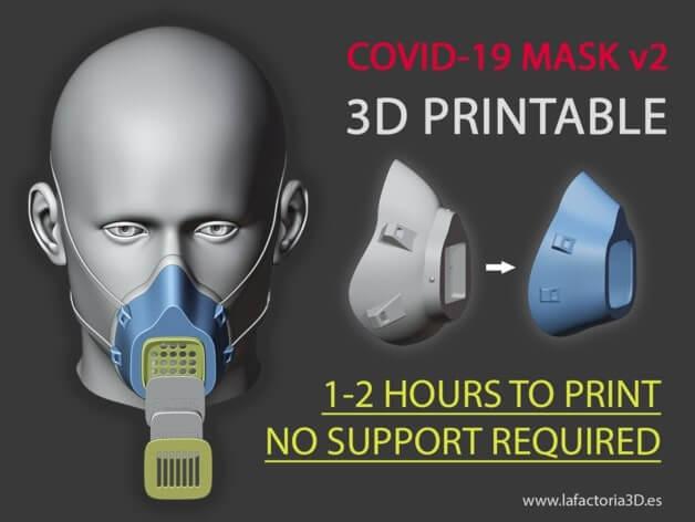 COVID-19 MASK v2