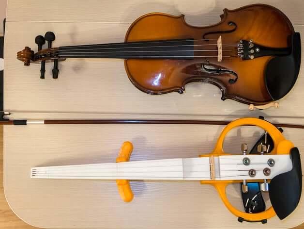 ElViolin 3d printed violin