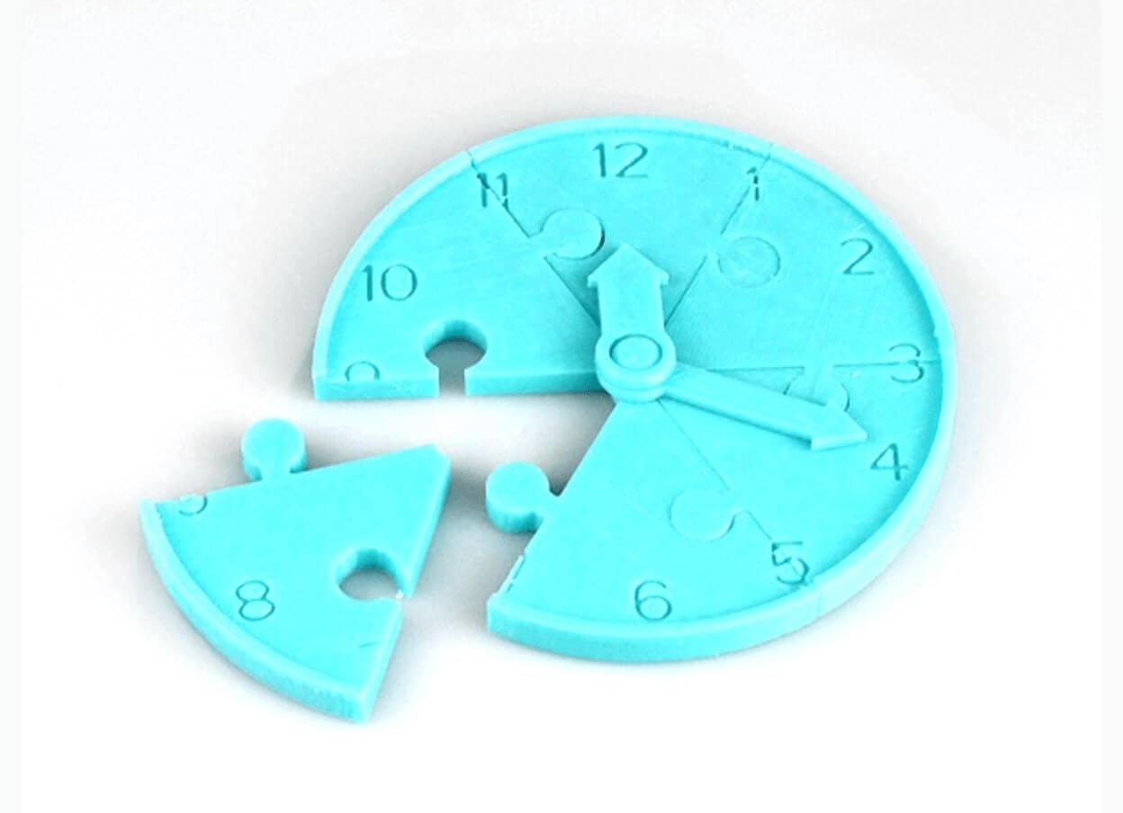 Jigsaw Clock By Cel Robox