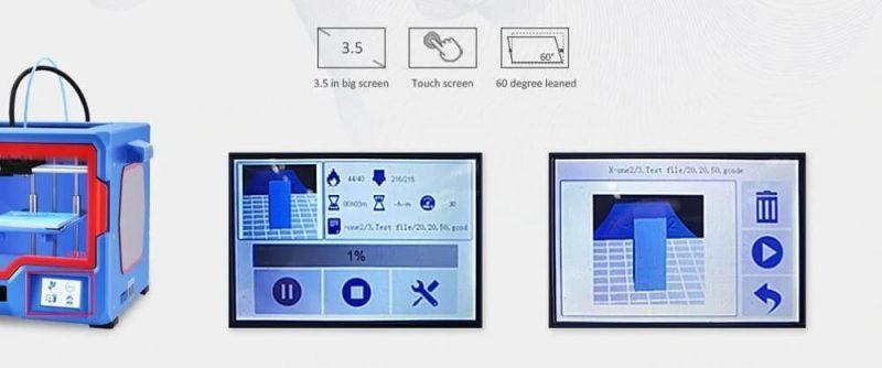 QIDI Tech X-One2 touch interface