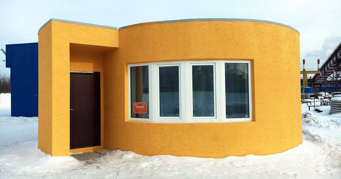 Russia's 3D Printed Home