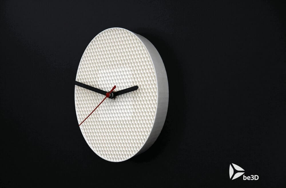 Structure Clock by Be3D