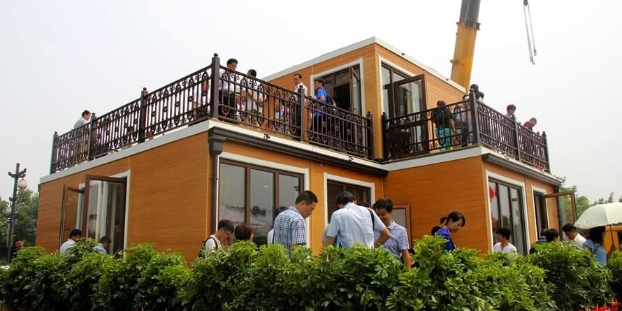 ZhuoDa Group 3d printed house