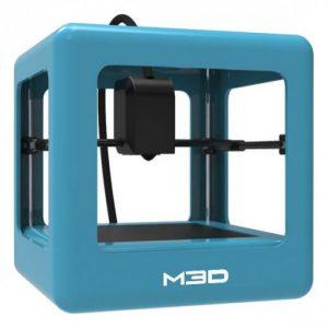 3d printer m3d micro blue